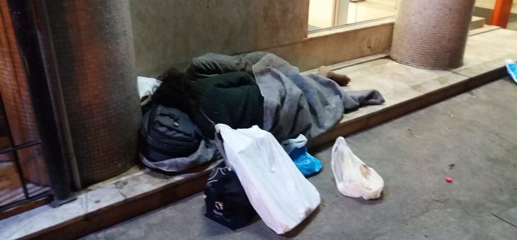 Acolhimento dos Moradores de Rua no Humaitá